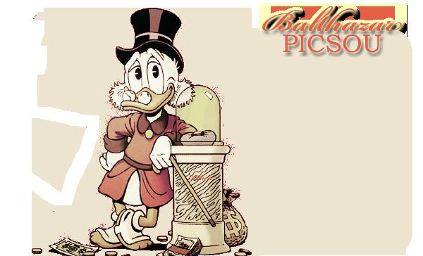 Fiche Présentation Disney #2 - Balthazar Picsou