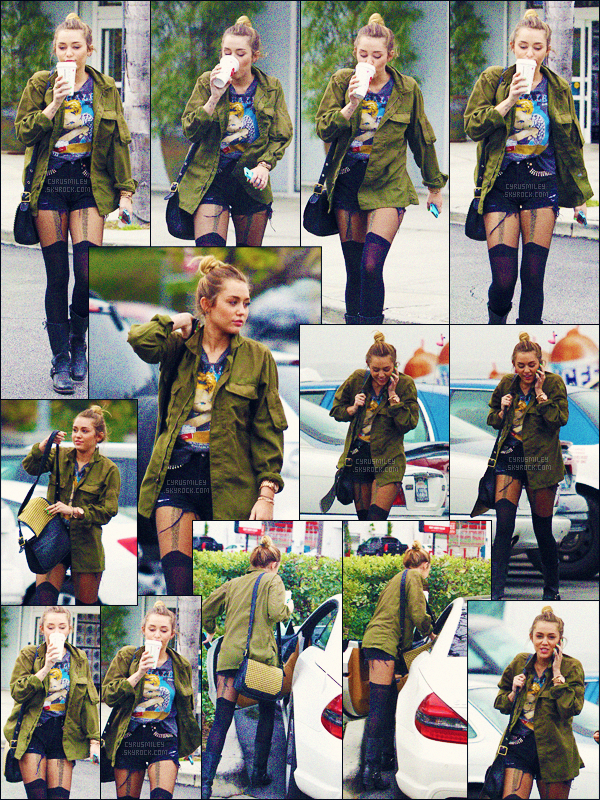 FLASH-BACK ●●● 07/02/12 - Miley Cyrus à été photographiée faisant du shopping.