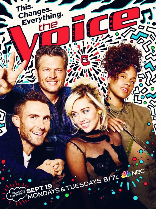THE VOICE US ●●●  Découvrez une nouvelle affiche promo pour la 11ème saison.