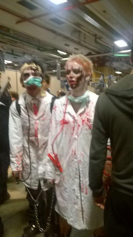 That zombie ! 😌😂✋
