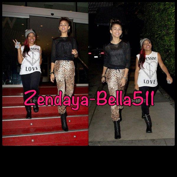 Zendaya & Deja Carter : Jonas Brothers'concert !!!
