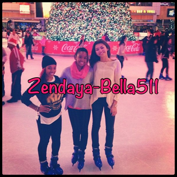 Bella at Jonas Brothers'concert + Zendaya & Gabi Wilson !!!