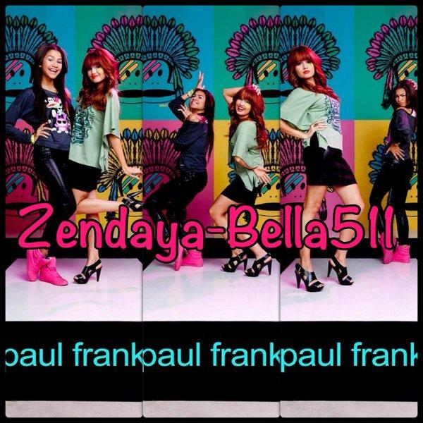 Zendaya & Debby Photoshoot : Paul Frank + Zendaya Photoshoot !!!