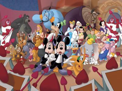 Mickey mouse et tous en bo te walt disney - Maison de mickey halloween ...