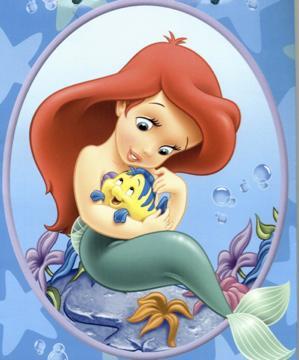 Ariel Et Polochon Walt Disney