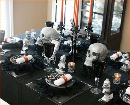 deco de table halloween pas cher halloween2014 2018. Black Bedroom Furniture Sets. Home Design Ideas