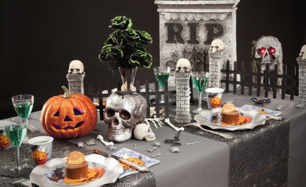 deco de table halloween pas cher blog halloween2014. Black Bedroom Furniture Sets. Home Design Ideas
