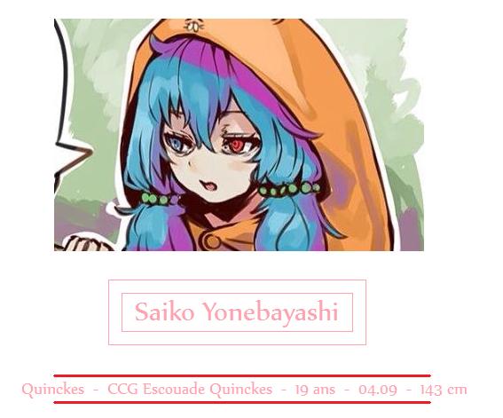 Saiko Yonebayashi - Tokyo Ghoul: Re