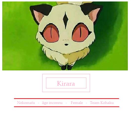 Kirara - Inuyasha