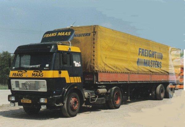 Les transporteurs disparus, aujourd'hui Frans Maas (NL)