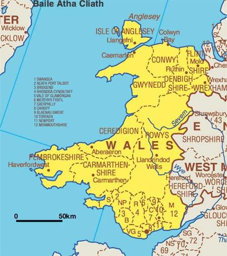 IL y a bien longtemps au Pays de Galles (GB)