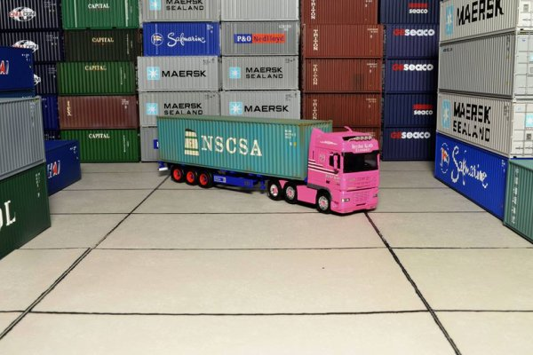 Du containers au 1/87em