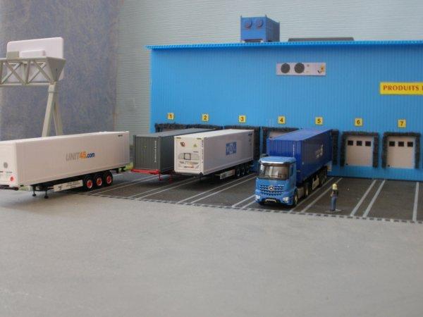 """Nouveau diorama """"ENTREPOT ROUTES&FERRIES"""""""