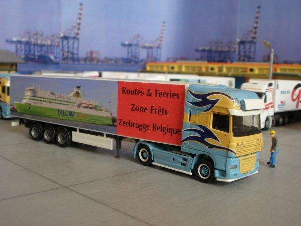 Arrivée des moules de Zélande (NL) chez Routes&Ferries de Zéebrugge(B)