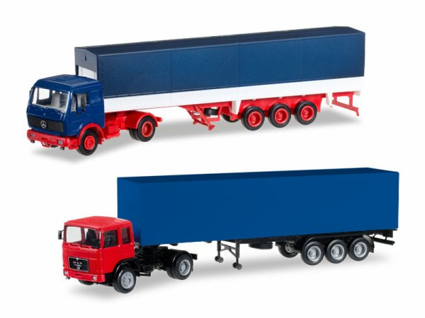 NVTS / NVTS, encore des augmentations de prix chez herpa, les tracteurs solo décoré pc de 39.5O a 44.95, les models neutre de 23/24.5O  maintenant 27.5O