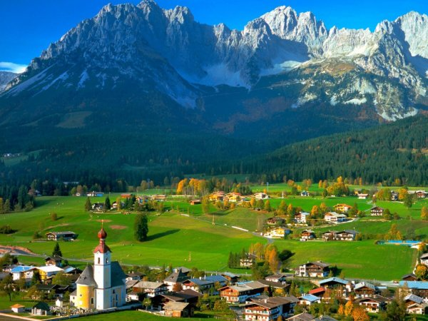 Quelques vues du Tyrol Autrichien