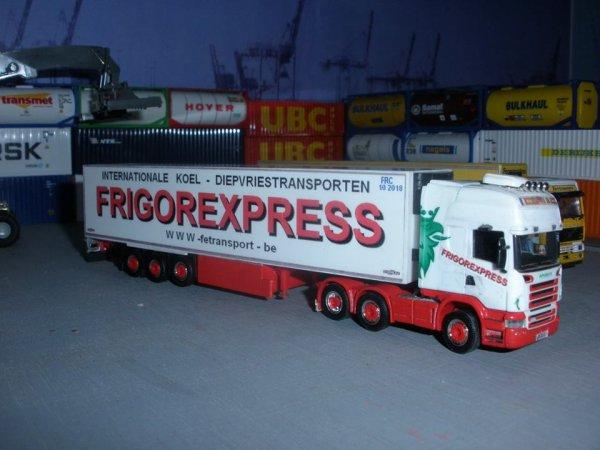 Des ensembles de FRIGOREXPRESS (B)+ la maquette 1/87em réalisée par PatricK87 (M E R C I )