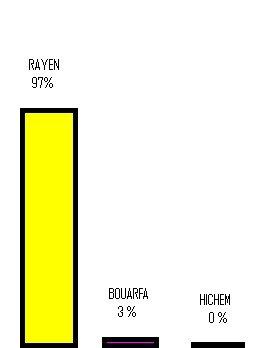 Les Resultas de vote