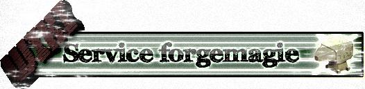 """TUTO - La Forgemagie' Chapitre IV  """"LES QUESTIONS QUE VOUS VOUS POSEZ PEUT ETRE """""""