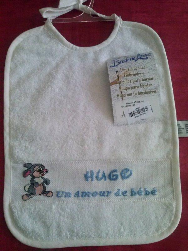 Bavoir de  Hugo