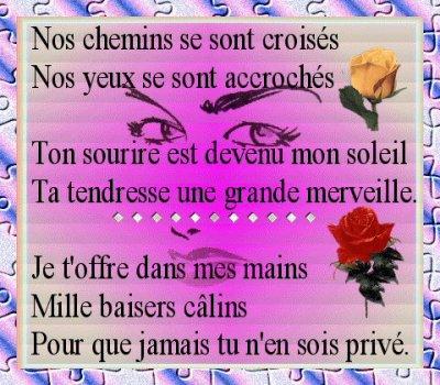 Poéme Damour Toujours Pour Ma Tite Gueule Damour Blog De