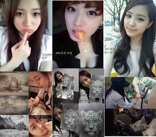 Rainbow's Jaekyung, Girls Day's Yura, & A Pink's Na Eun