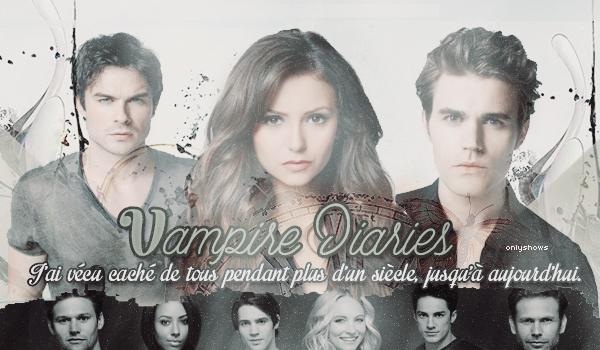 J'ai vécu caché de tous pendant plus d'un siècle, jusqu'à aujourd'hui  •Articles Série The Vampire Diaries   _Création_ l _Décoration_ l  _Newsletter_ l