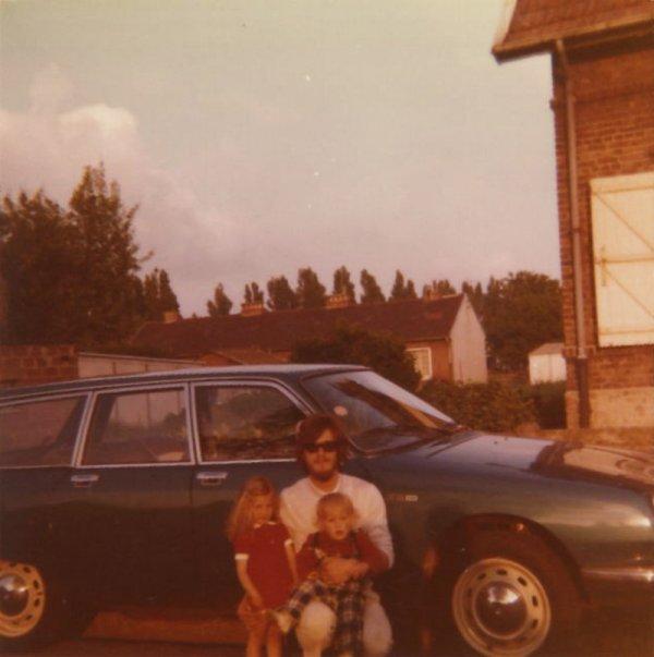 Michel et deux de ses enfants