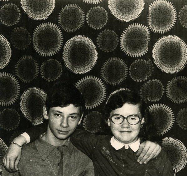 Les jumeaux Geneviève et Philippe