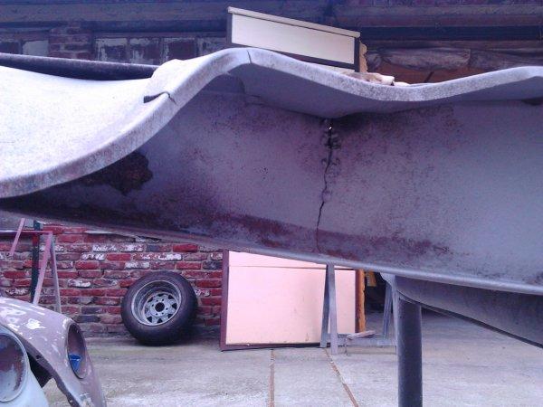 2 cheveaux 1956 réparation longeront