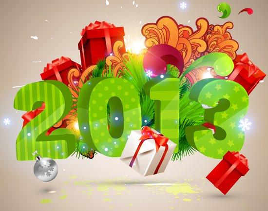 BONNE ANNEE 2013 A VOUS TOUS ET TOUTES
