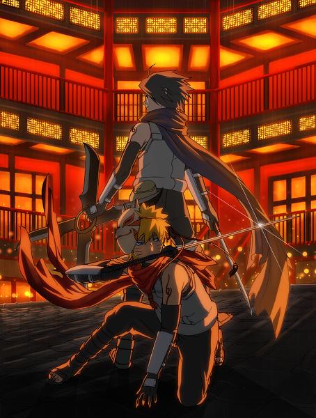 Sasuke et naruto en force speciale