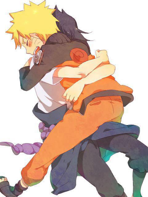 Je ne veux jamais te lacher mon Naruto et toujours te serrer dans mes bras <3