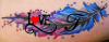 Tatouage d'Amandine. ❤