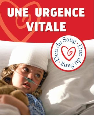 Le don du sang, de plaquette, de plasme et d'organne
