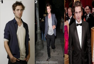 Tenues de Robert Pattinson