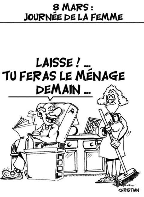LA JOURNÉE INTERNATIONALE DES DROITS DES FEMMES pour être plus précise