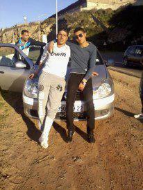 moi avec mon frère