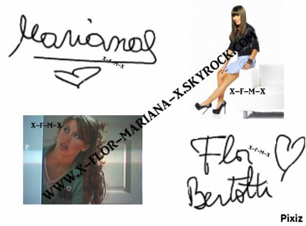 ✿ Autographe ✿
