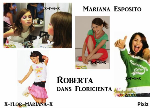 ✿ Roberta dans Floricienta ✿