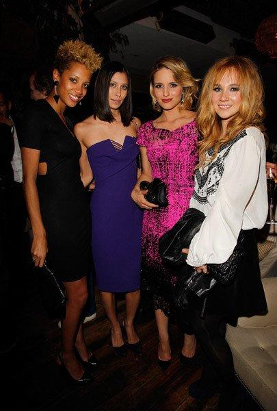 Dianna Agron aux dînners/défilés de Vogue (2)