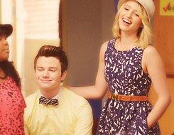 Quinn et Kurt