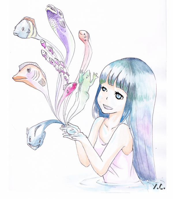 dessin pour le concours de Emie chan