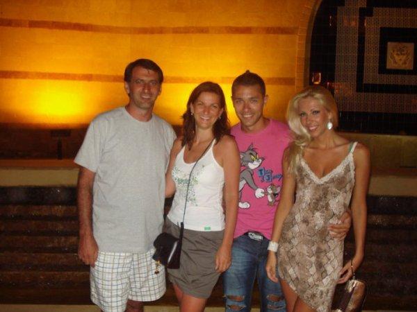 Marco, Eliza, Mirko et moi