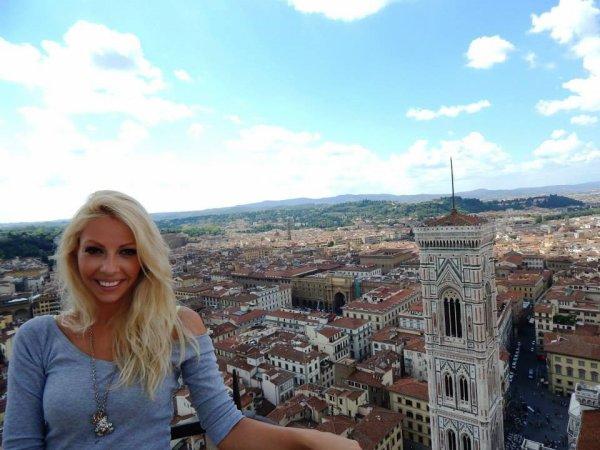 C'est la fin des vacances! (photo à Firenze)