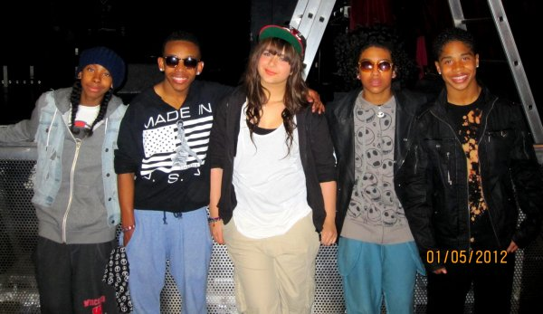 MINDLESS BEHAVIOR IN PARIS LA RENCONTRE !