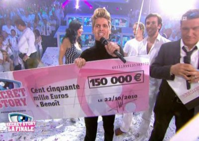 benoit le grand gagnant de secret story 4