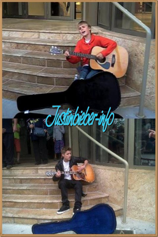 Justin devant le Avon Theatre