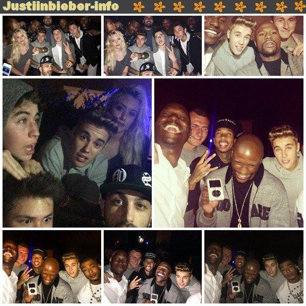 Justin à Los Angeles- Justin devant un studio à Miami.