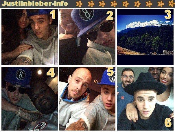 Instagram de Justin.